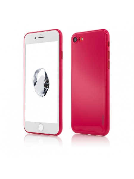 Husa iPhone 8, 7 | Clip-On | Ultra Thin Air Shiny Series | Red [0]