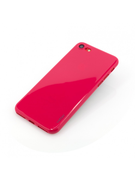 Husa iPhone 8, 7 | Clip-On | Ultra Thin Air Shiny Series | Red [2]