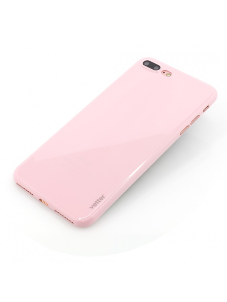 Husa iPhone 8 Plus, 7 Plus | Clip-On | Ultra Thin Air Shiny Series | Pink 2