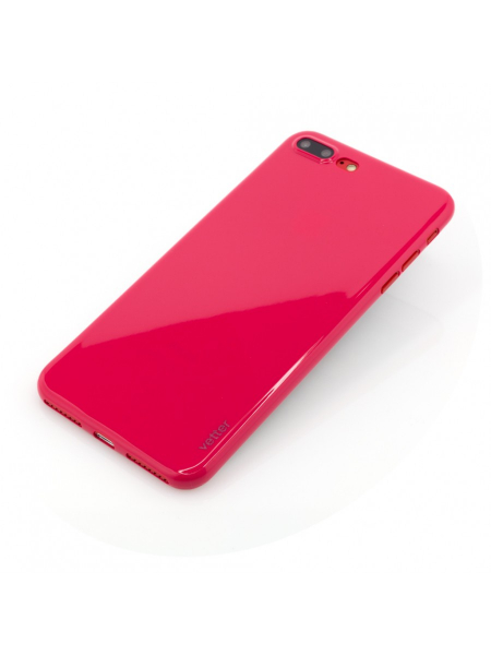 Husa iPhone 8 Plus, 7 Plus | Clip-On | Ultra Thin Air Shiny Series | Red 2