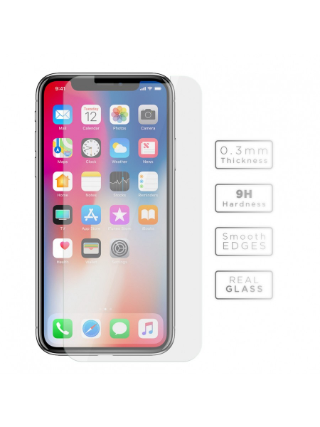 Folie Protectie Sticla iPhone XS, X | Vetter Tempered Glass 1