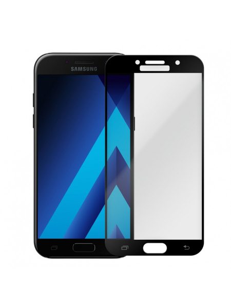 Folie Protectie Sticla Samsung Galaxy A5 (2017) A520 | Full Frame Tempered Glass Vetter GO | Black 1