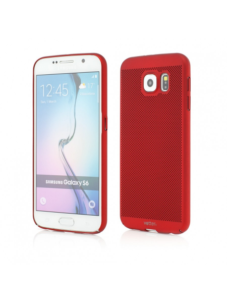 Husa Samsung Galaxy S6 | Clip-On Vent Series LTD | Red 0
