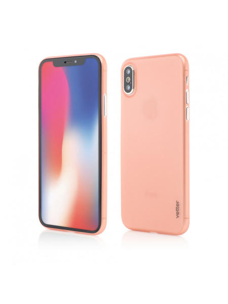 Husa iPhone XS, X | Clip-On | Ultra Thin Air Series | Rose Gold 0