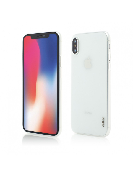 Husa iPhone XS, X | Clip-On | Ultra Thin Air Series | Transparent 0