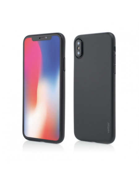 Husa iPhone XS, X | Clip-On | Ultra Thin Air Series | Black 0
