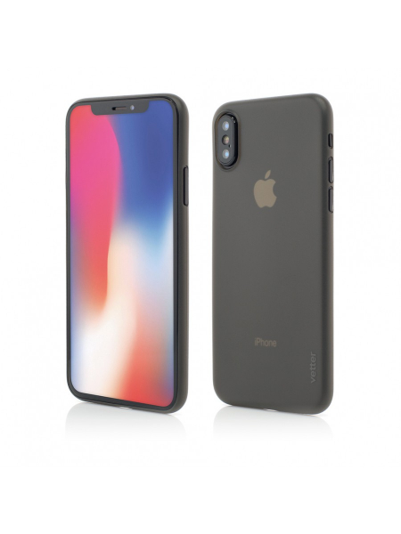 Husa iPhone XS, X | Clip-On | Ultra Thin Air Series | Grey 0