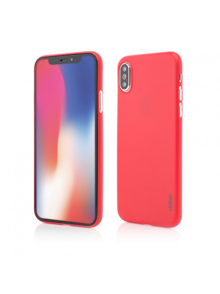 Husa iPhone XS, X | Clip-On | Ultra Thin Air Series | Red 0