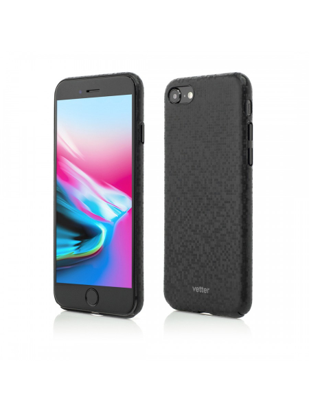 Husa iPhone 8 | Smart Case Pixel FX | Ultra Slim | Black 0