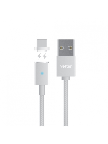 Cablu USB Type C Magnetic | Silver 1