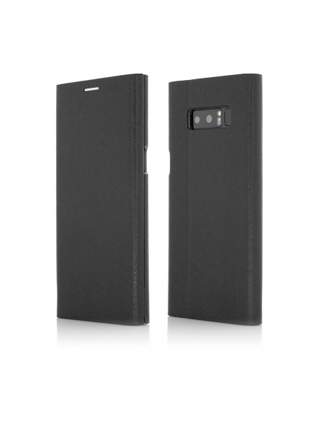 Husa Samsung Galaxy Note 8 | Flip Book Series | Black 0