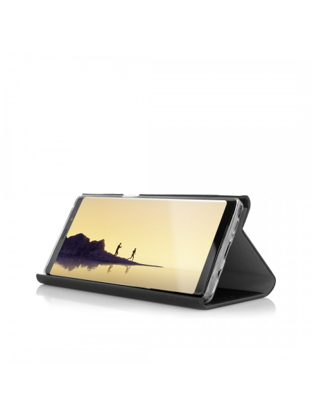 Husa Samsung Galaxy Note 8 | Flip Book Series | Black 2