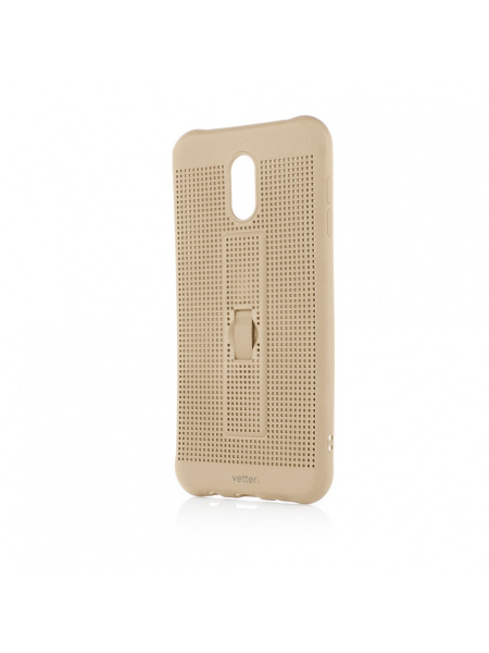 Husa Samsung Galaxy  J7 Plus | Vetter GO | Vent Soft with Strap | Gold 0