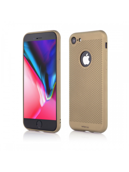 Husa iPhone 8, 7 | Vetter GO | Vent Soft | Gold 0