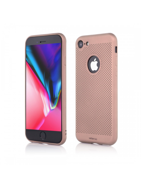 Husa iPhone 8, 7 | Vetter GO | Vent Soft | Pink 0