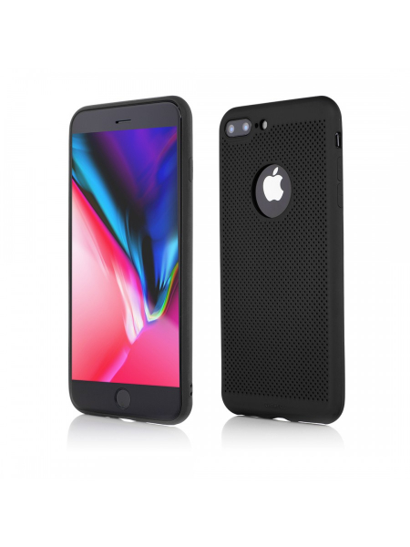 Husa iPhone 8 Plus, 7 Plus | Vetter GO | Vent Soft | Black 0