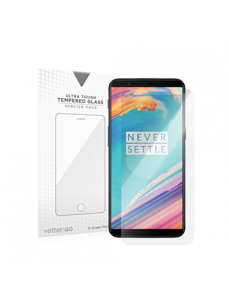 Folie Protectie Sticla OnePlus 5T | 3 Pack 0