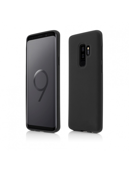 Husa Samsung Galaxy S9 Plus | Clip-On Soft Touch Silk Series | Black 0