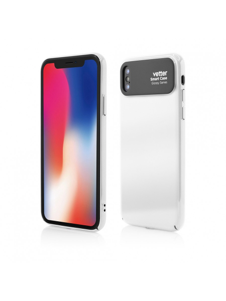 Husa iPhone X | Smart Case Glossy Series | White 0