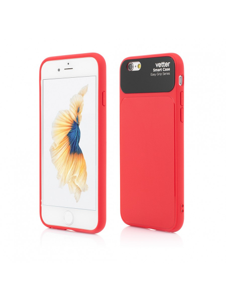 Husa iPhone 6s, 6 | Smart Case Easy Grip | Red 0