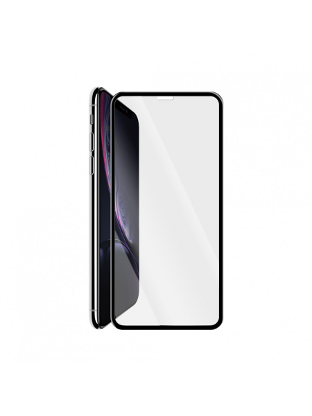 Folie Protectie Sticla iPhone XR | 3D Tempered Glass Easy Fit | Black 1