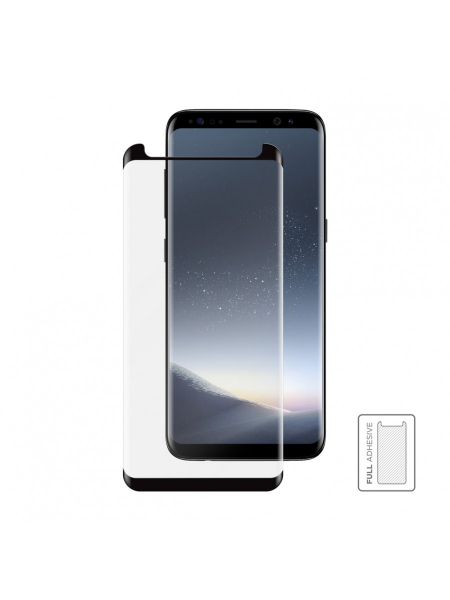 Folie Protectie Sticla Samsung Galaxy S8 | 3D Tempered Glass Easy Fit Full Adhesive | Black 1