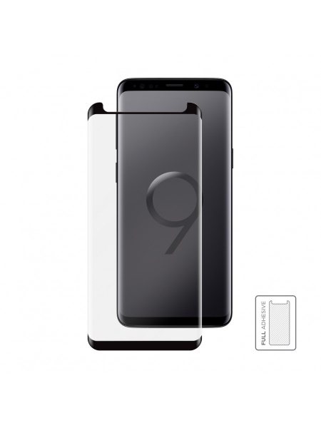 Folie Protectie Sticla Samsung Galaxy S9 Plus | 3D Tempered Glass Easy Fit Full Adhesive | Black [1]