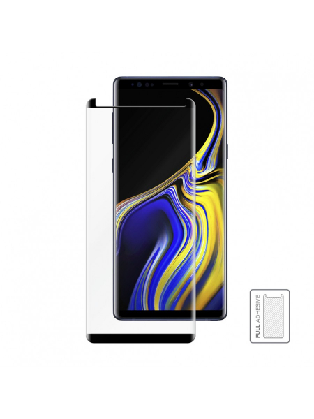 Folie Protectie Sticla Samsung Galaxy Note 9 | 3D Tempered Glass Easy Fit Full Adhesive | Black 1