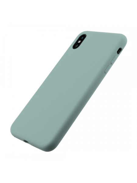 Husa iPhone XS Max | Clip-On Soft Touch Silk Series | Green 2