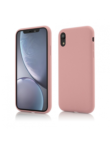 Husa iPhone XR | Clip-On Soft Touch Silk Series | Pink 0
