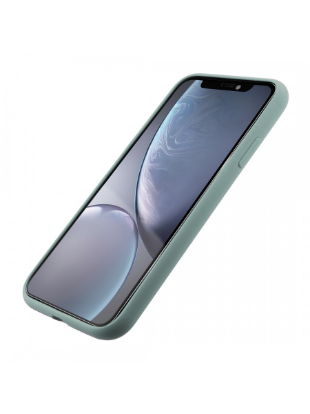 Husa iPhone XR | Clip-On Soft Touch Silk Series | Green 1
