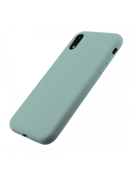 Husa iPhone XR | Clip-On Soft Touch Silk Series | Green 2