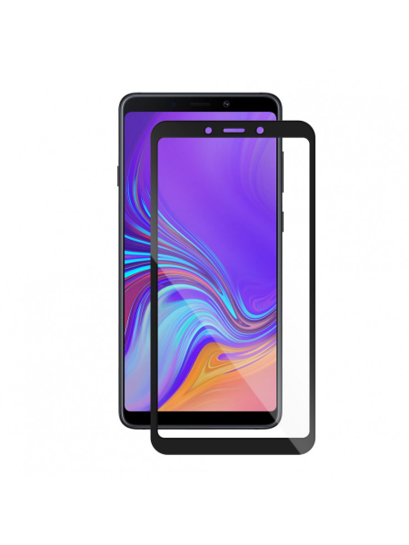 Samsung Galaxy A9 (2018) | Full Frame Tempered Glass Vetter GO | Black 1