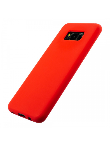 Husa Samsung Galaxy S8 | Clip-On Soft Touch Silk Series | Red 2
