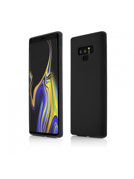 Husa Samsung Galaxy Note 9 | Clip-On Soft Touch Silk Series | Black 0
