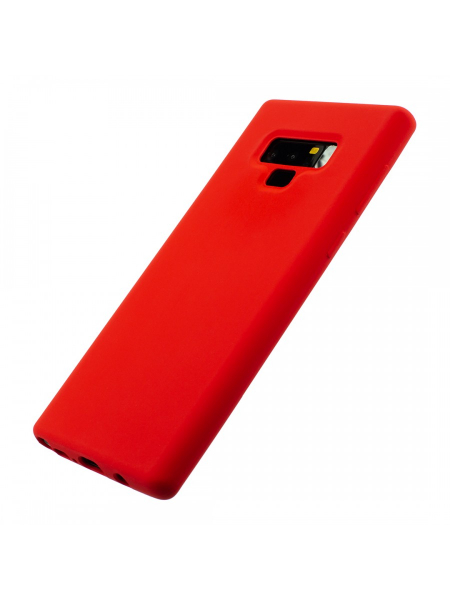 Husa Samsung Galaxy Note 9 | Clip-On Soft Touch Silk Series | Red 1
