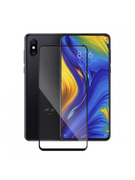 Folie Protectie Sticla Xiaomi Mi Mix 3 | Full Frame Tempered Glass Vetter GO | Black 1