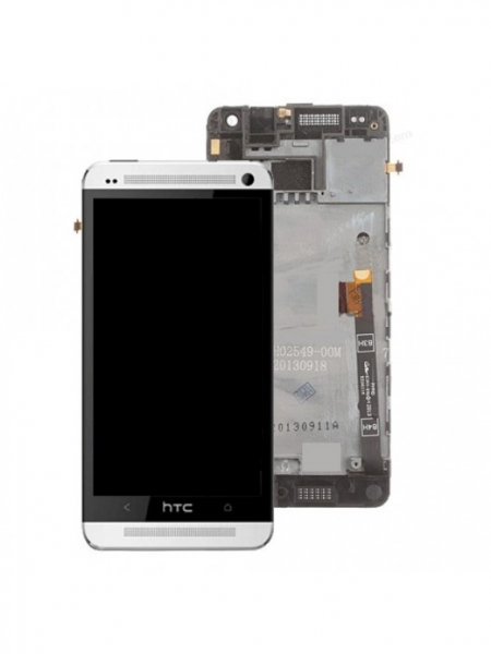 HTC One M8 |Complet | Silver 0