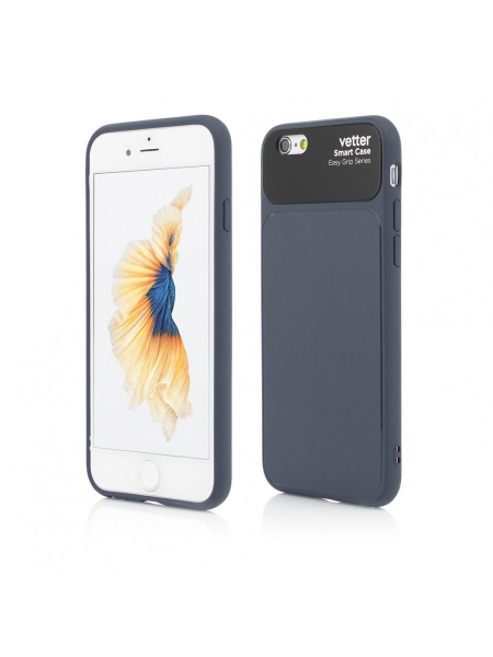Husa iPhone 6s, 6 | Smart Case Easy Grip | Blue 0