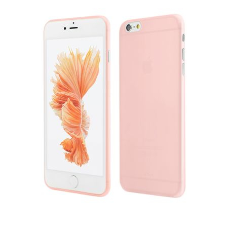 Husa iPhone 6s Plus, 6 Plus | Clip-On | Air Series Ultra Thin 0.3mm | Rose Gold 0