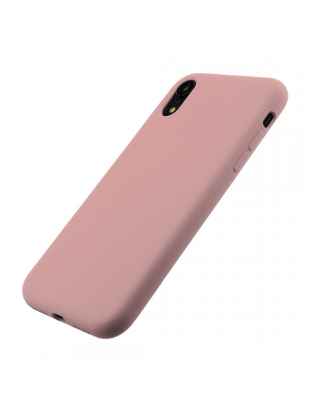 Husa iPhone XR | Clip-On Soft Touch Silk Series | Pink 2