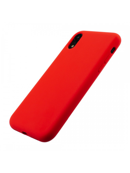 Husa iPhone XR | Clip-On Soft Touch Silk Series | Red 2