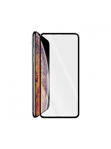 Folie Protectie Sticla iPhone XS Max | 3D Tempered Glass Easy Fit | Black 2