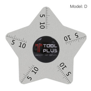 Opening Tool 0.1MM Ultrathin Tool With Scale | 6 Star Angle 0