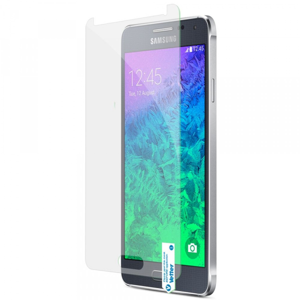Folie Protectie Sticla Samsung Galaxy Alpha G850 | Vetter Ultra Slim 0.2mm | Tempered Glass Pro 1