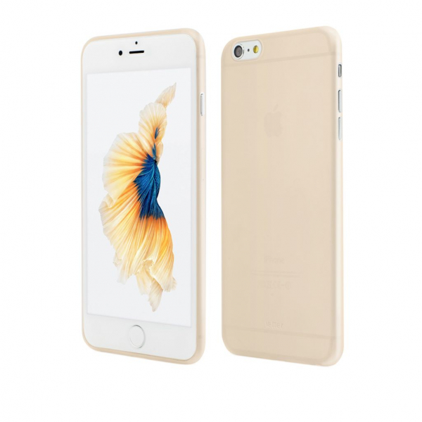 Husa iPhone 6s Plus, 6 Plus | Clip-On | Air Series Ultra Thin 0.3mm | Gold [0]