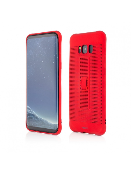 Husa Samsung Galaxy S8 Plus G955 | Vetter GO | Vent Soft with Strap | Red 0