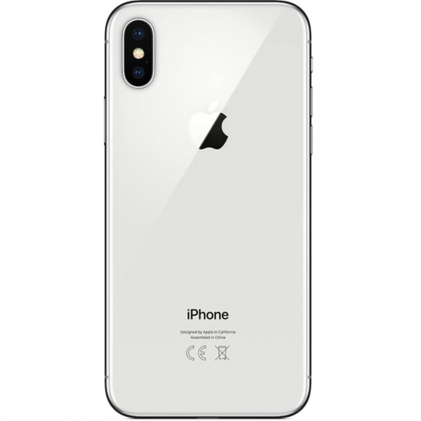 Telefon mobil Apple iPhone X, 64GB, 4G, Silver 2