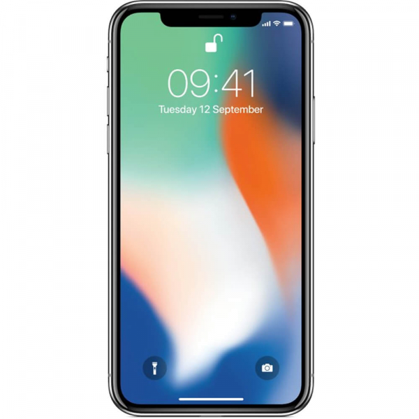 Telefon mobil Apple iPhone X, 64GB, 4G, Silver 0