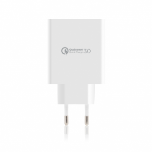 Incarcator Priza Rapid | with Quick Charge 3.0 and Smart Port | White2